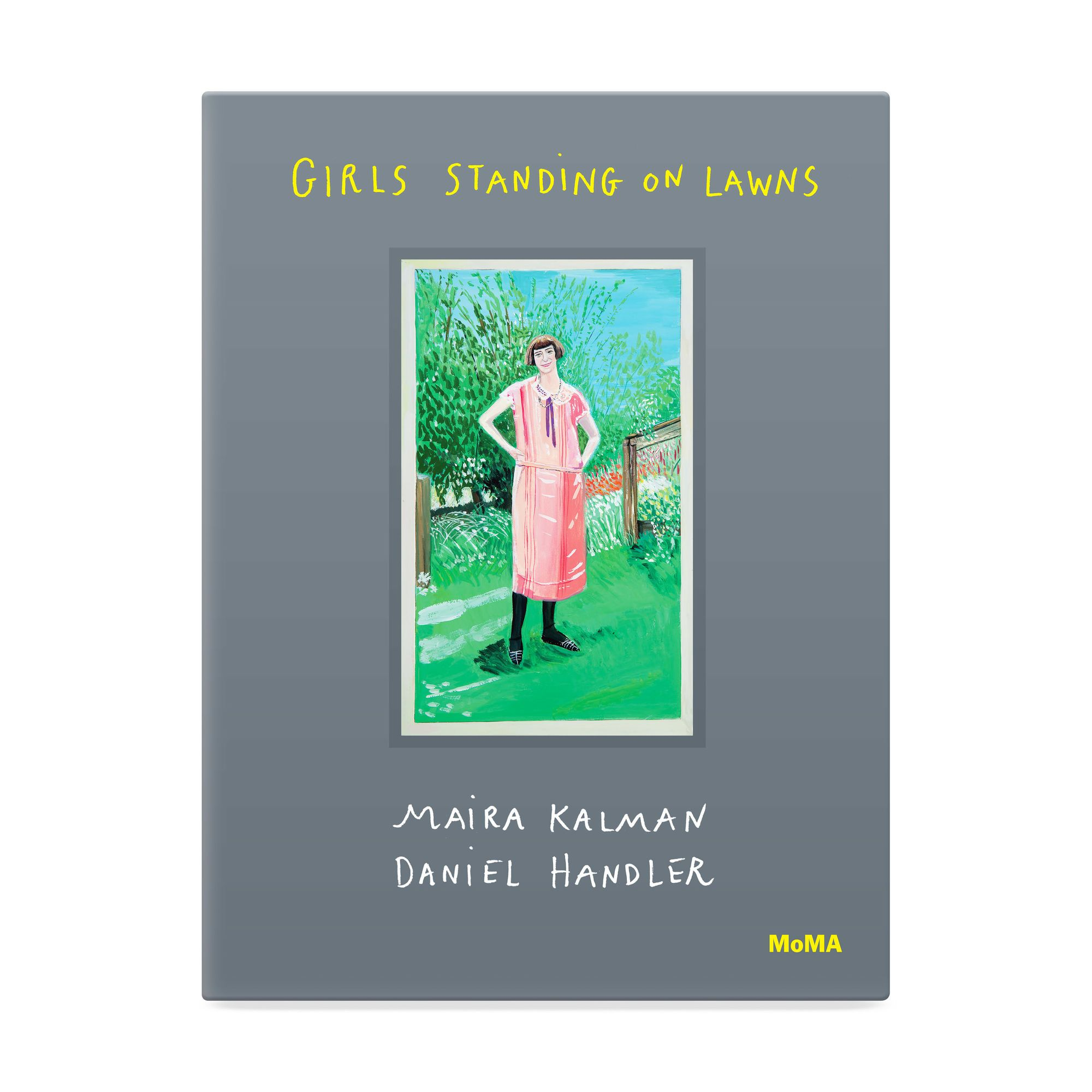 Girls Standing On Lawns Girl Standing Daniel Handler Modern Kids