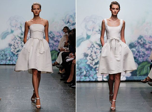 Monique Lhuillier Short Wedding Dresses Wedding Ideas Pinterest