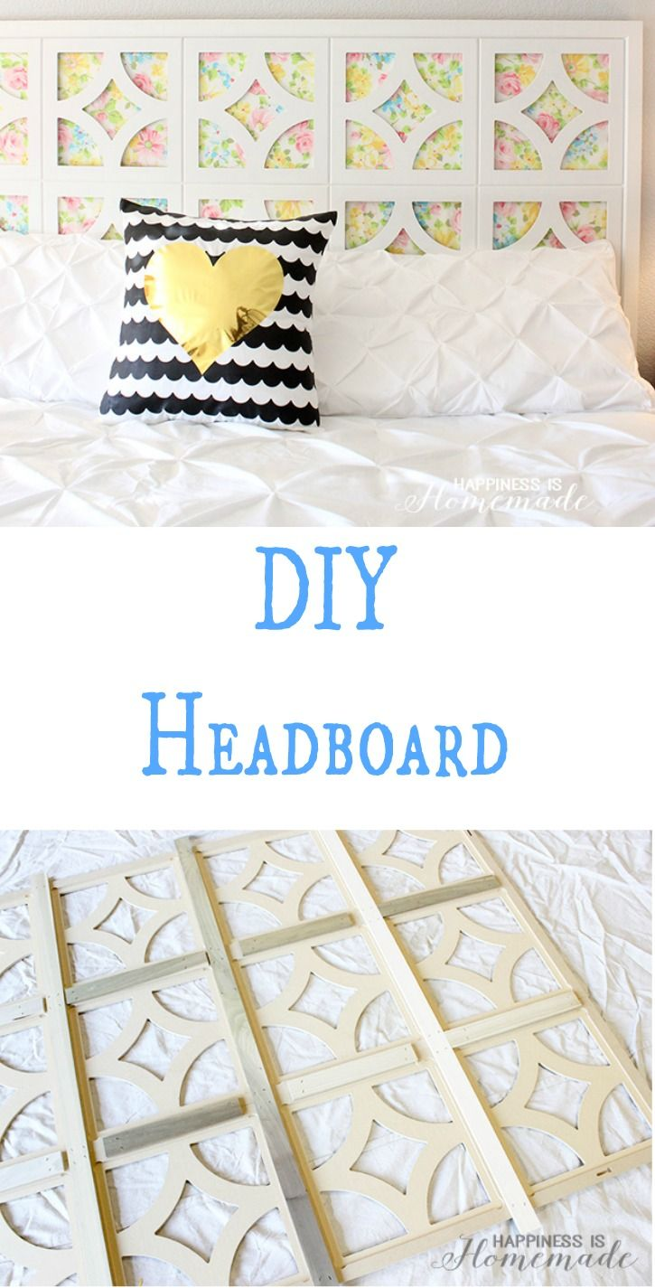 51 51 diy headboard ideas to make the bed of your dreams snappy pixels - Beautiful Diy Headboard