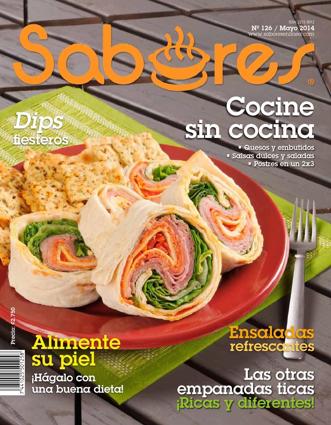 Sabores costa rica mayo 2014 libro cocina revistas - Comida para navidad facil ...