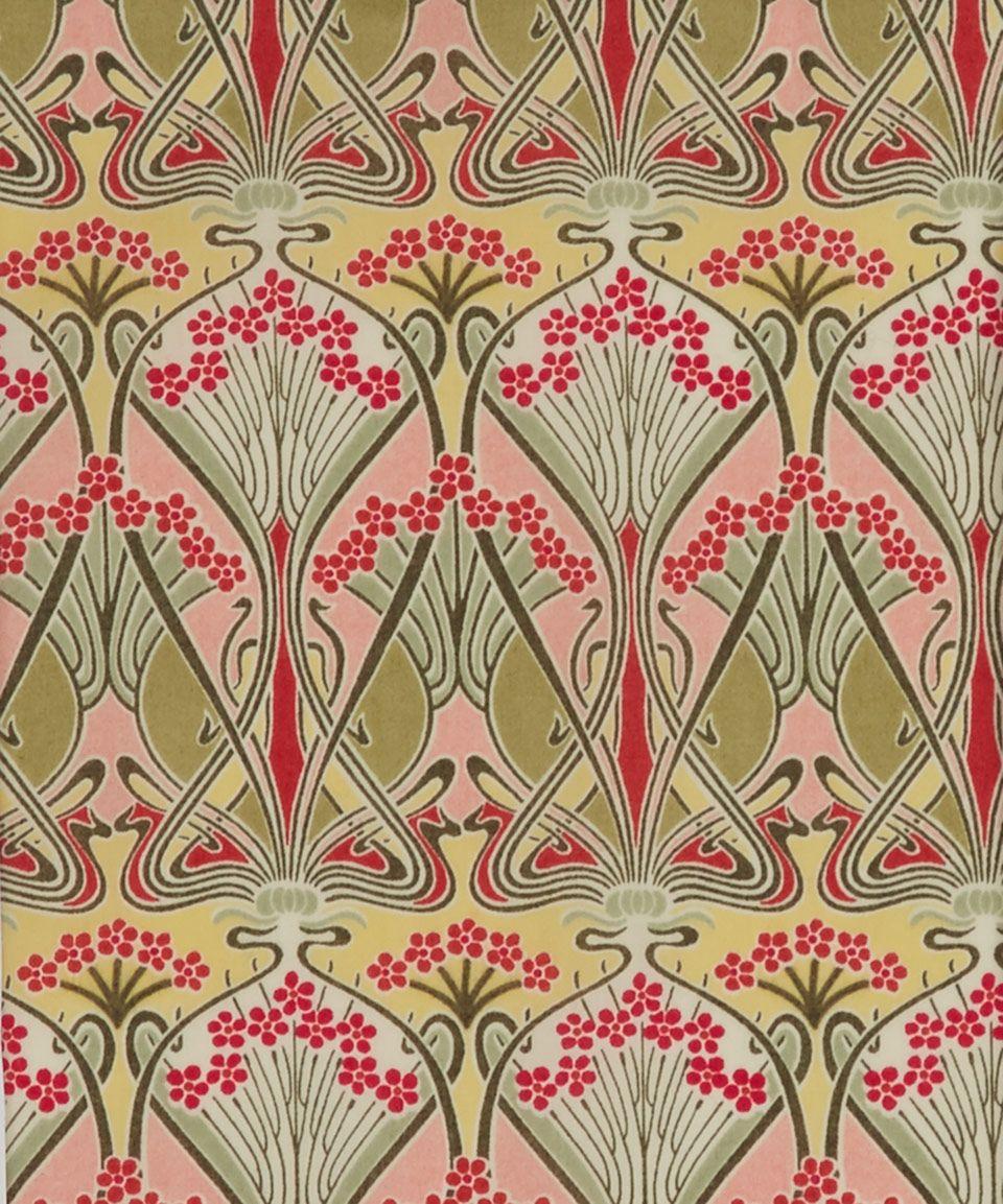 Liberty art fabrics ianthe b tana lawn classic tana lawn for Art deco fabric