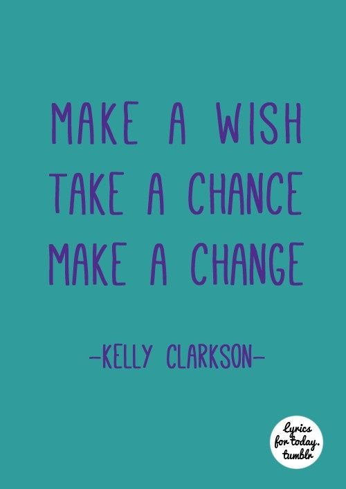 Kelly clarkson motivation lyrics
