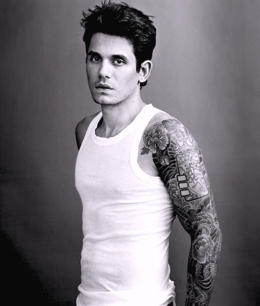 Beautiful John Mayer: John Mayer Tattoo Sleeves #tattoos #ink #celebritytattoos