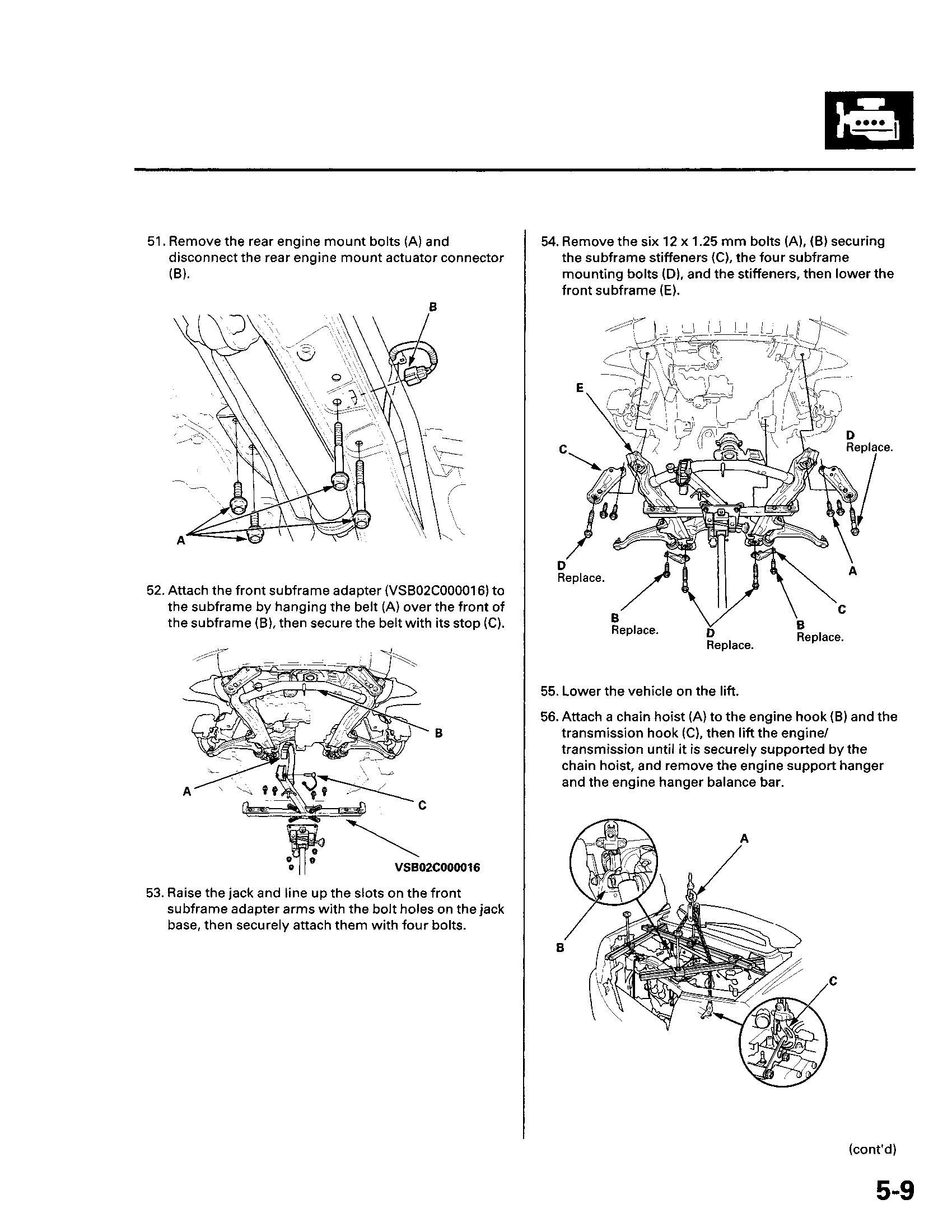 2003 Honda Pilot Engine Diagram