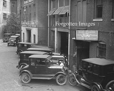 Early Ford Dealership 1920s 8x10 Photo Print 12 95 Vintage