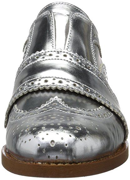 f404306946 Hudson Maddie Calf Silver, Women's Brogue: Amazon.co.uk: Shoes & Bags