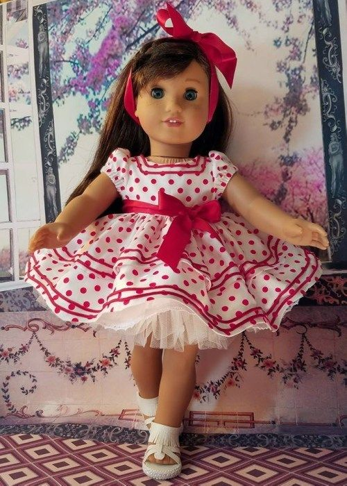 Doll Days Design Challenge Time to Vote! - Avery Lane Sewing #dolldresspatterns