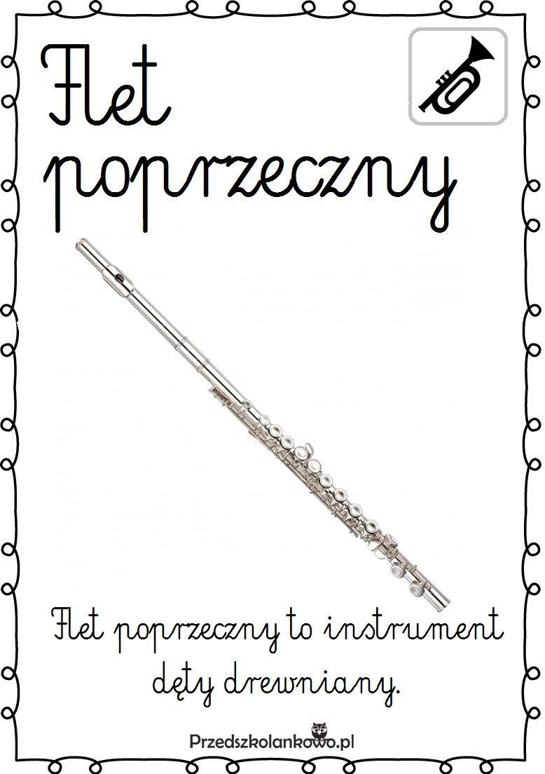 Instrumenty Muzyczne Plansze Zestaw 2 Przedszkolankowo Music Education Montessori Art Learning