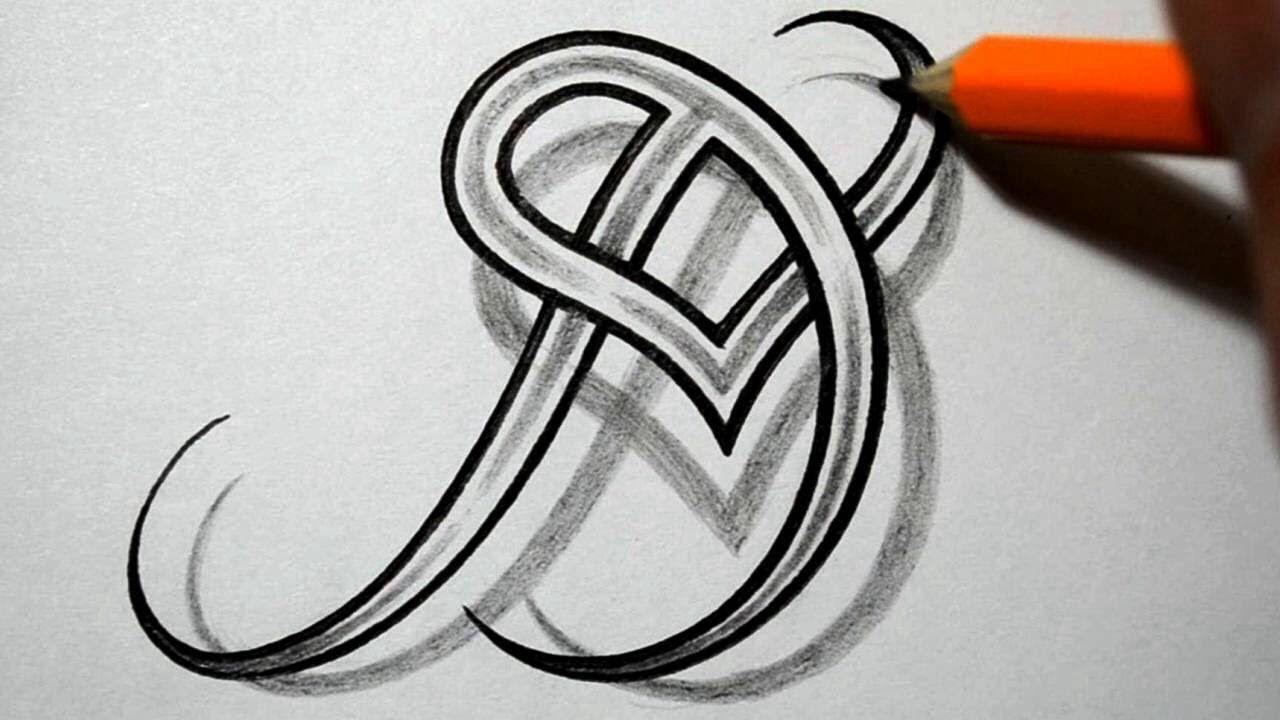 JD initial tattoo idea Letter d tattoo, Initial tattoo