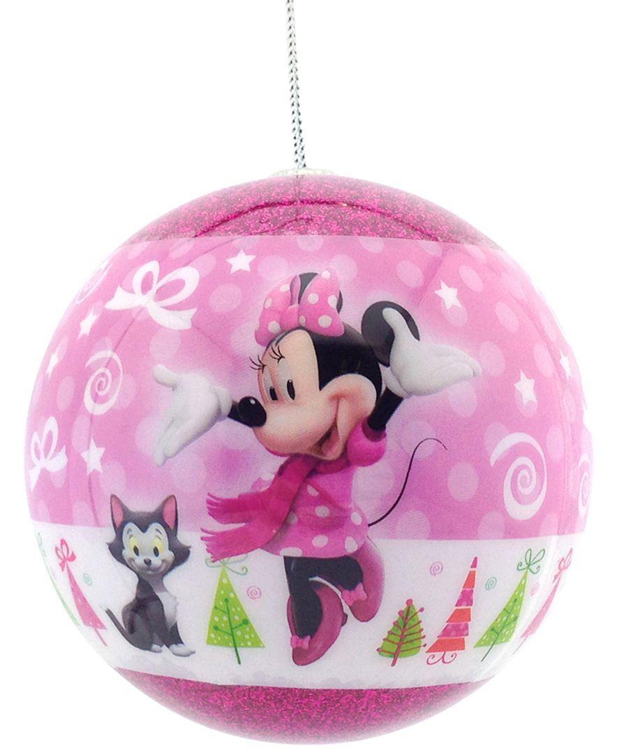 Hallmark Minnie Boutique Ball Ornament
