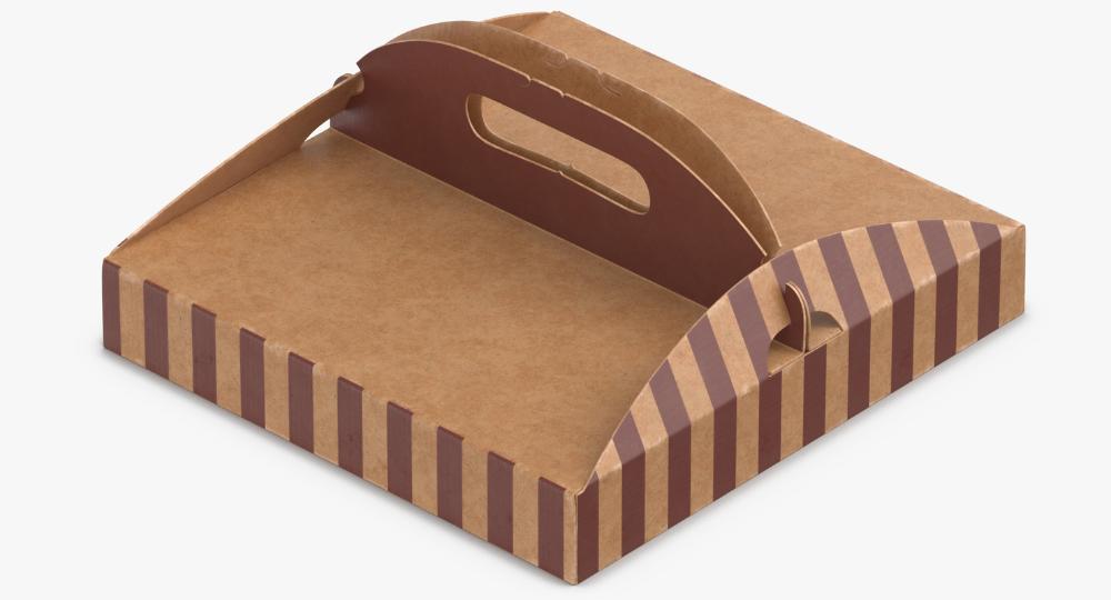 3d Pizza Box 01 Turbosquid 1320659 Pizza Box Design Pizza Boxes Pizza Design