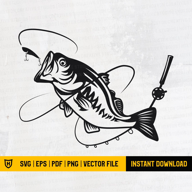 Download Bass Fish Svg Fishing Svg Bass Fish Svg Sea Bass Svg Etsy In 2021 Fish Svg Fishing Svg Fish Clipart