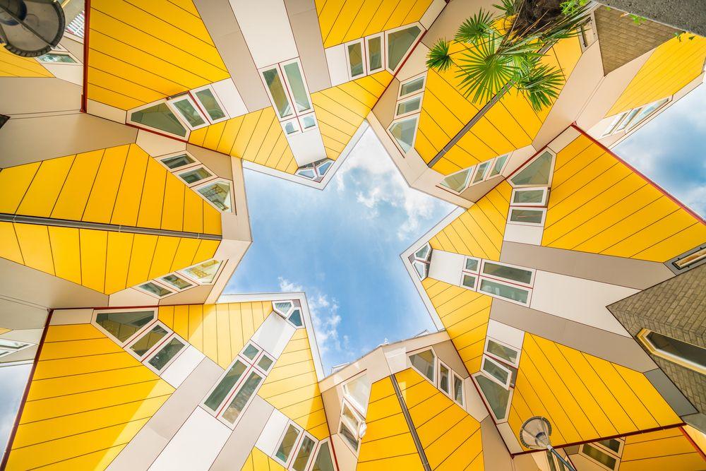 7 Aplikasi Warna Kuning Pada Arsitektur Bangunan Landmarks Satisfying Photos Start Of Winter