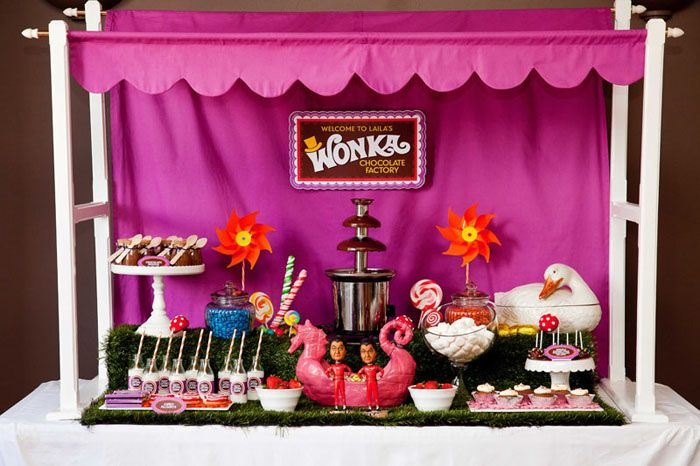 Oompa Loompa! A Willy Wonka Table Styling