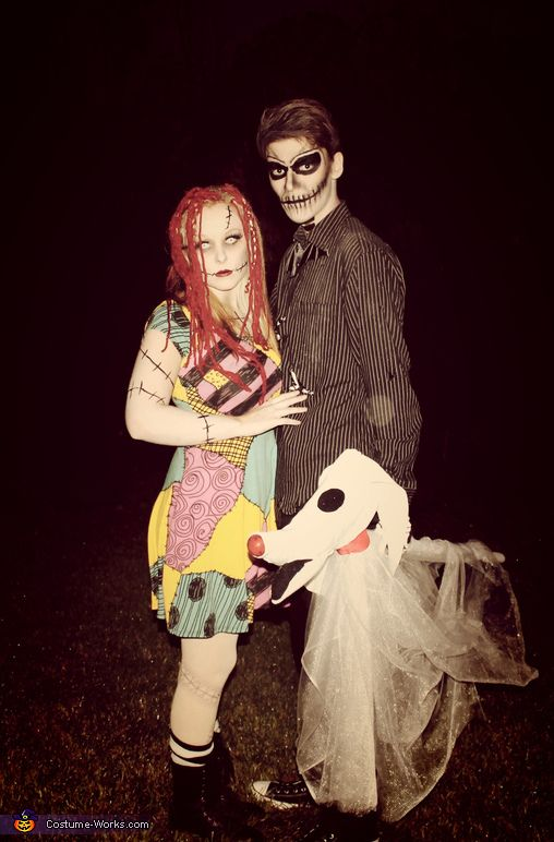 jack and sally halloween costume contest at costume. Black Bedroom Furniture Sets. Home Design Ideas