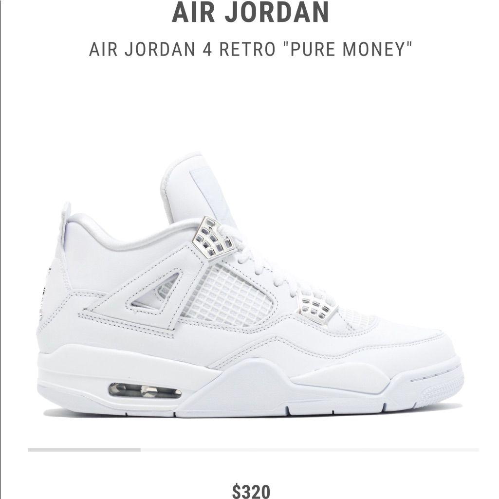 Air Jordan 4 Retro Pure Money #mine | Air jordans retro
