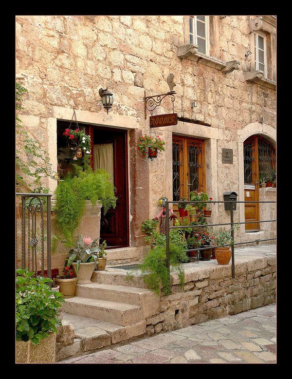 Street In Kotor City - Mediteran   Kotor_Montonegro   Pinterest   Street
