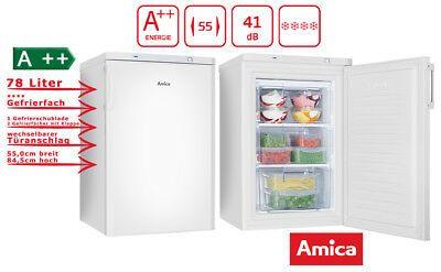 eBay Sponsored Amica Gefrierschrank Weiß 80 Liter 85 cm