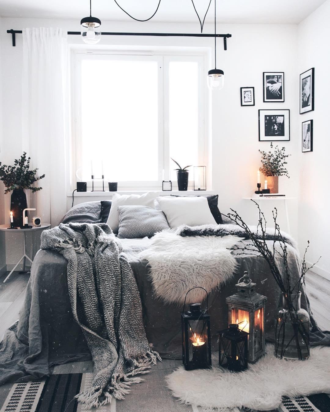 Romantisches schlafzimmer interieur schaffell carry  schlafzimmer u ankleidezimmer  pinterest  room