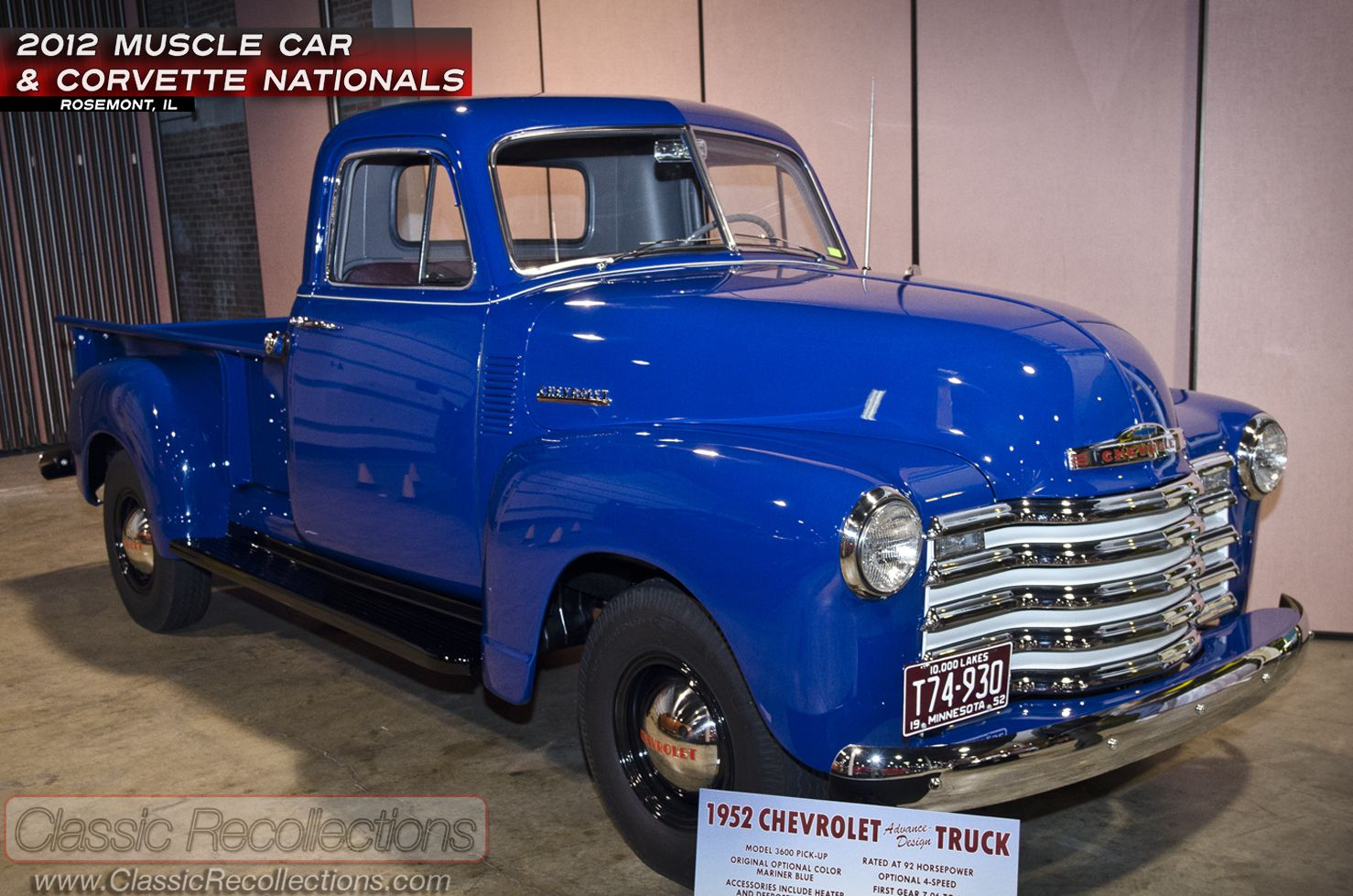 Mcacn 1952 chevrolet 3600 pickup truck classic cars pinterest mcacn 1952 chevrolet 3600 pickup truck publicscrutiny Gallery