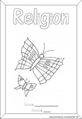 Religion Deckblatt