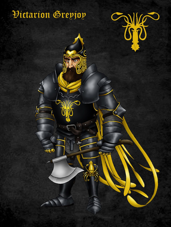 Victarion Greyjoy by ~Felipenn on deviantART #got #agot #asoiaf