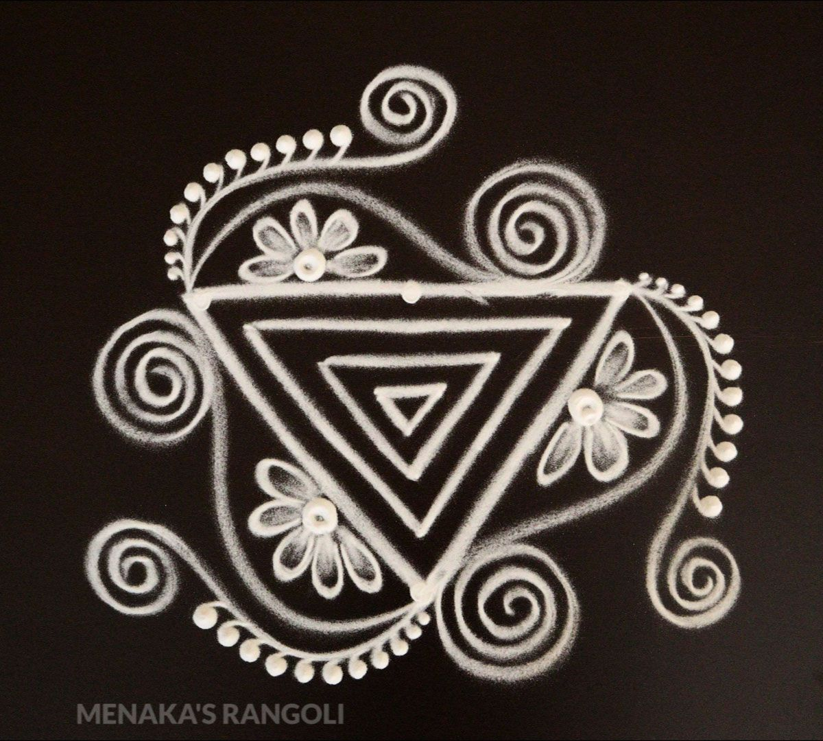 Pin by Soummya M on simple kolam in 2020 Free hand