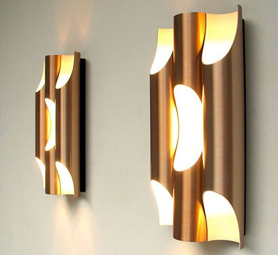 Lighting | Pipe Wall Lights Design Elegant Wall Lighting Design
