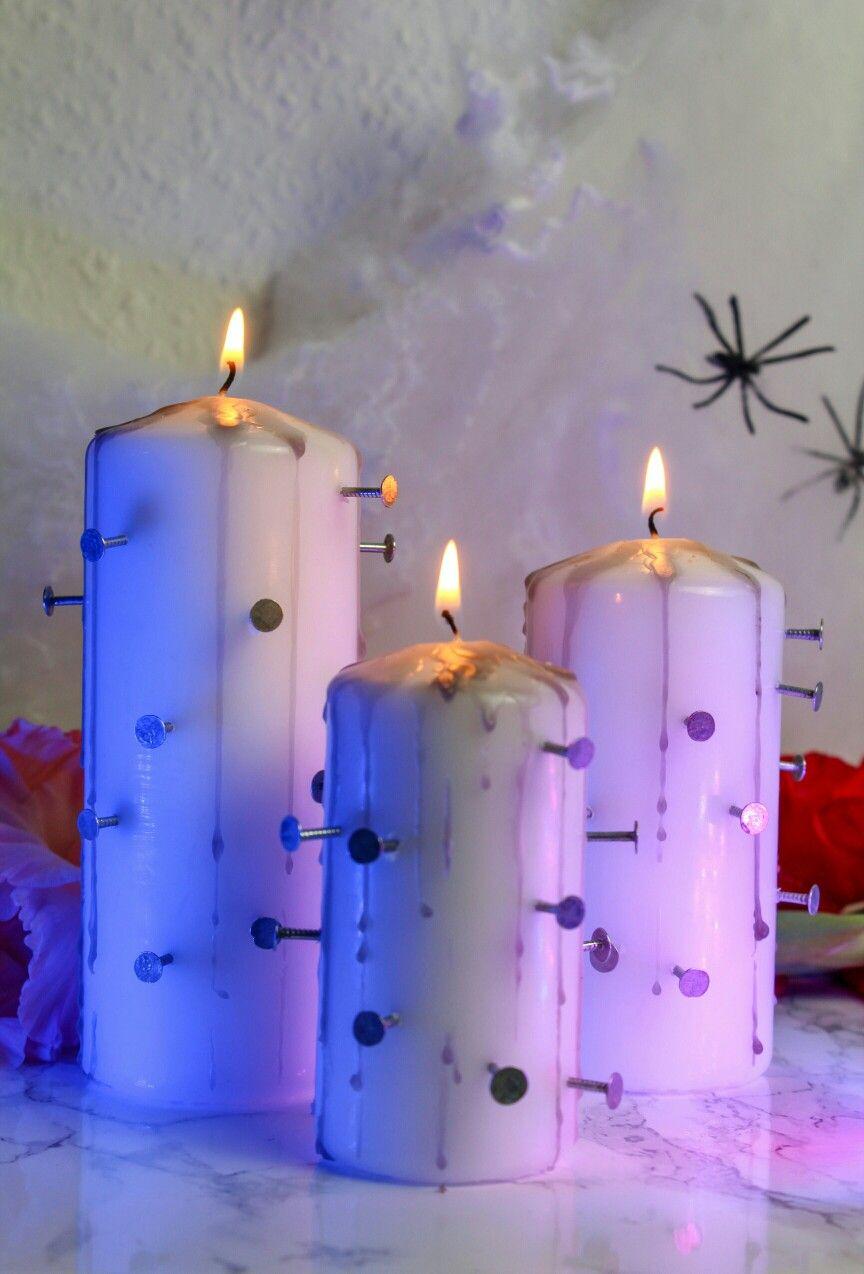Horror Kerzen Fur Deine Halloweenparty Ganz Einfach Selber Machen Schaurig Schone Diy Halloween Deko Halloween Deko Basteln Diy Ideen Geschenke Deko Basteln