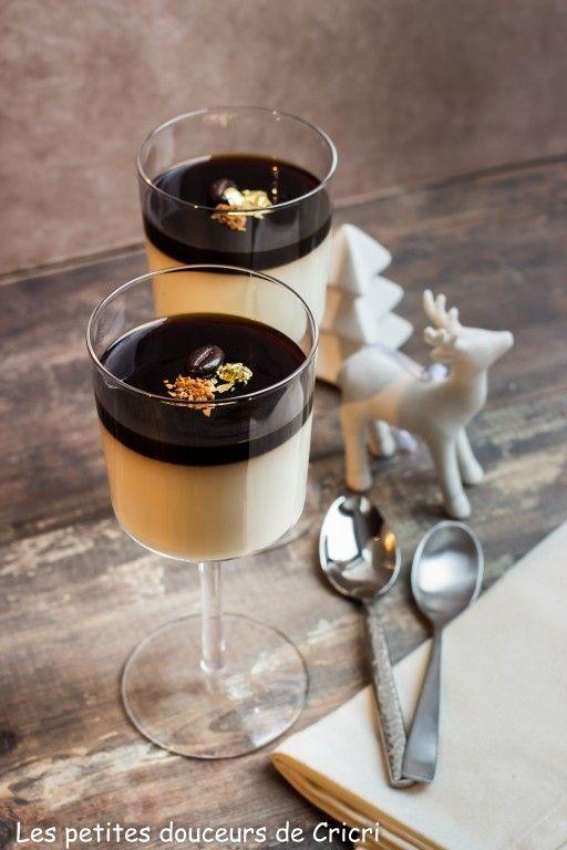 recette panna cotta comme un caf cr me recettes saison. Black Bedroom Furniture Sets. Home Design Ideas