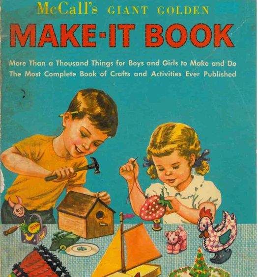 simple vintage crafts for kids