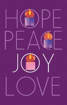 hope peace joy love advent week 3 high school cm. Black Bedroom Furniture Sets. Home Design Ideas