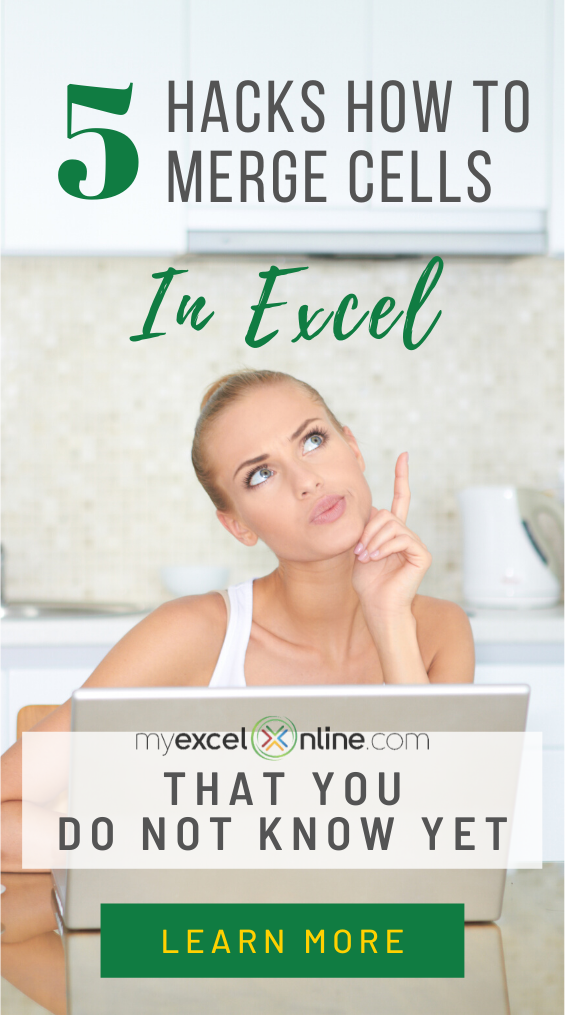How to Merge Cells in Excel Ultimate Guide in 2020