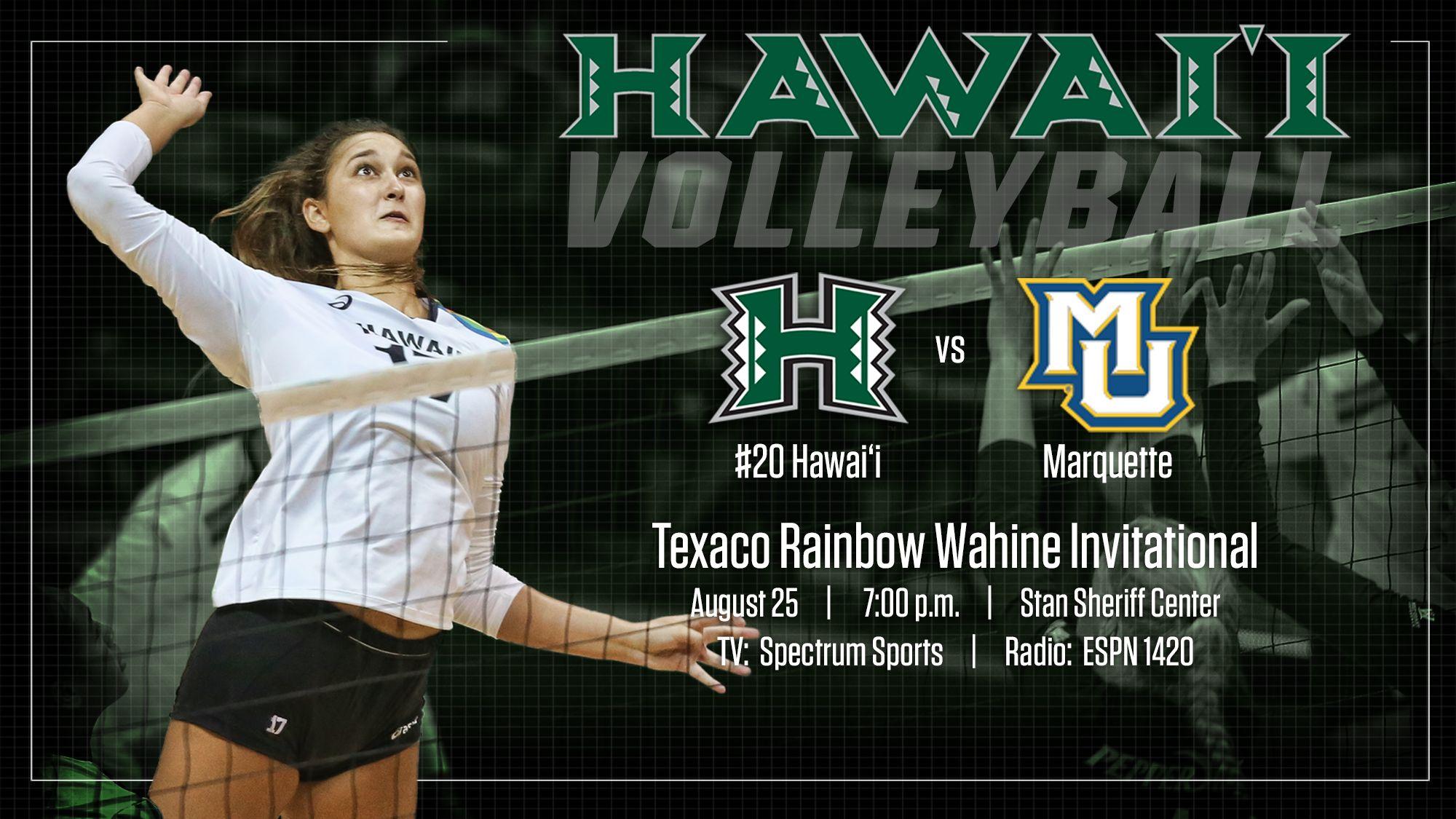 Hawai I Volleyball Social Media Graphic Social Media Radio Hawaii