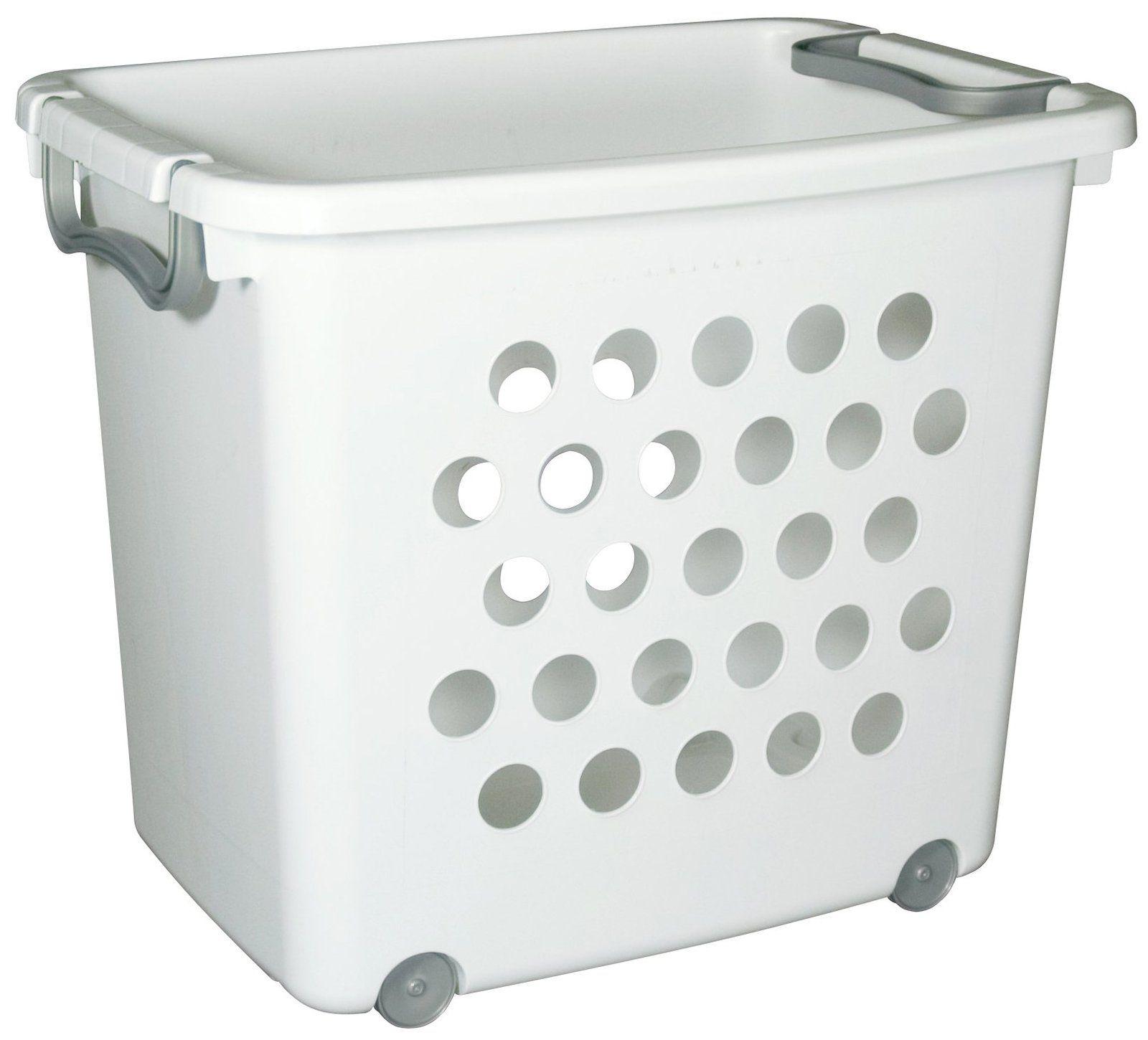 Sterilite Large Wheeled Stacking Basket Stacking Basket Storage Baskets Toy Storage Baskets