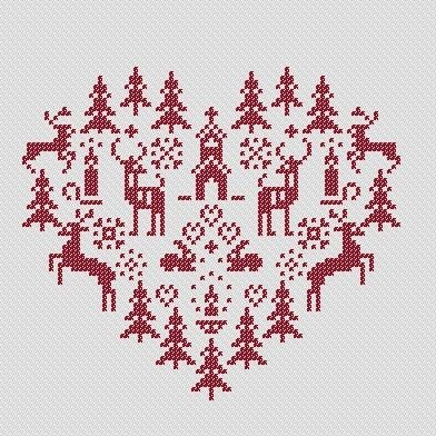 Best In Show ~ Christmas Cross Stitch Patterns Christmas cross stitch patte...