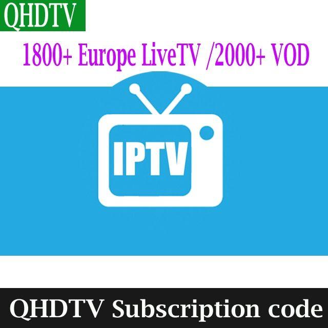 1 Year QHDTV IUDTV Swedish French Arabic Spanish Portugal