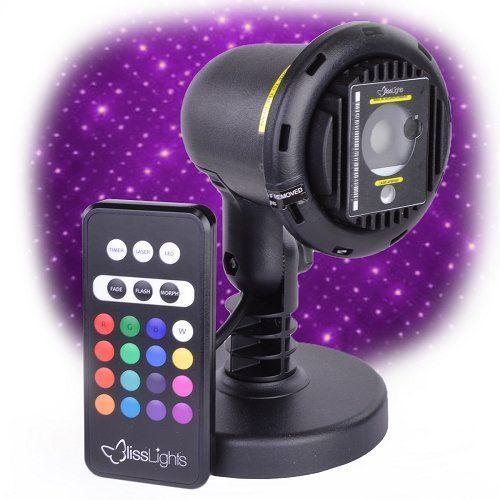 Purple Laser Light Projector By Blisslights Commercial Grade Indoor Or Outdoor Laser Star Spotlight I Laser Lights Projector Blisslights Laser Lights