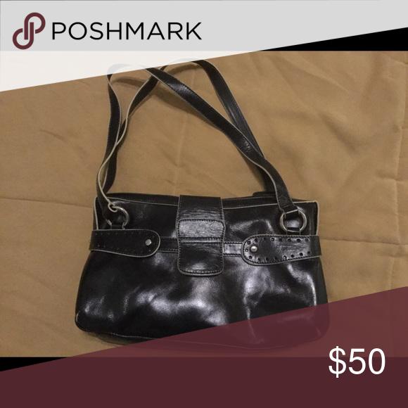 Leather Purse Black Never Used Milleni