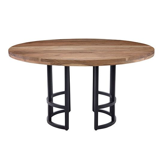 Buy Race Round Dining Table 54 By Moe S Home Collection On Dot