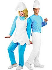 Smurfette and Smurf Couples Costumes - TV Movie Costumes - Couples Costumes - Couples Group Costumes - Halloween Costumes - Categories - Party City Canada  sc 1 st  Pinterest & Party City Couples Costumes - Smurfette and Smurf Couples Costumes ...
