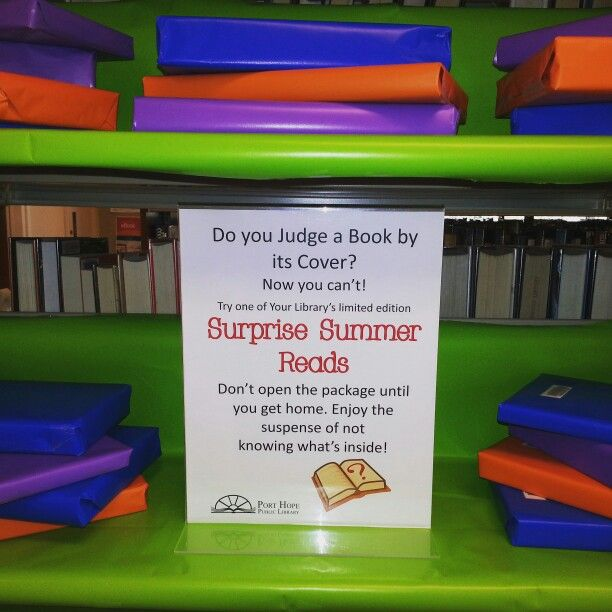 Tempting wrapped surprise reads