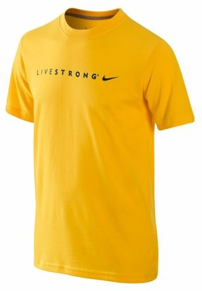 Nike LIVESTRONG Legend Kids' Tee Shirt