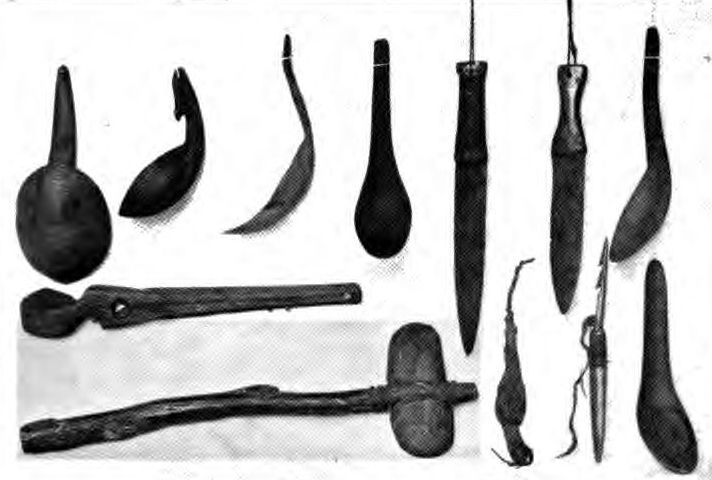 mold native american weapons amp tools from clay file