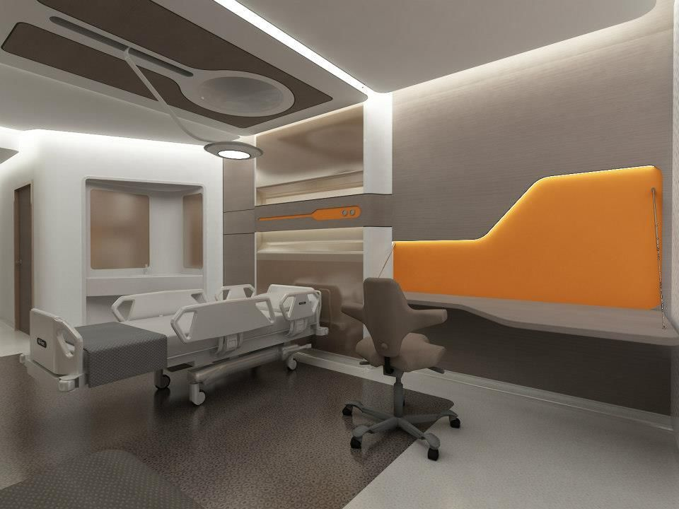 LIV HOSPITAL ULUSPatient room By ZoomTPU HEALTHCARE
