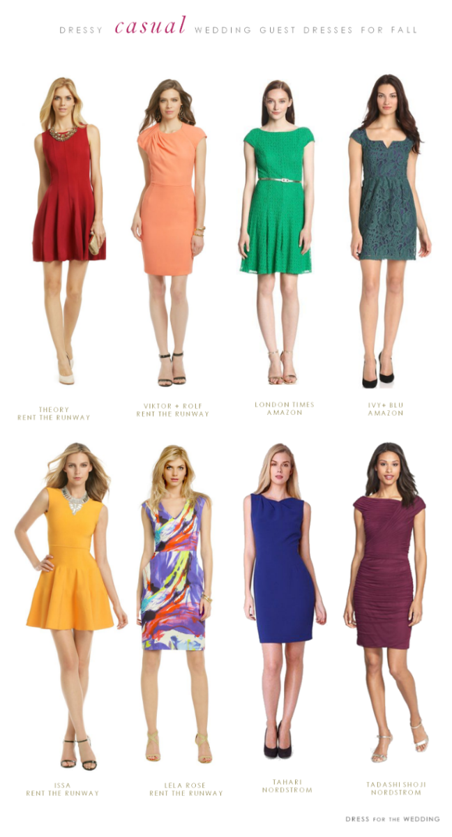 What To Wear A Casual Fall Wedding