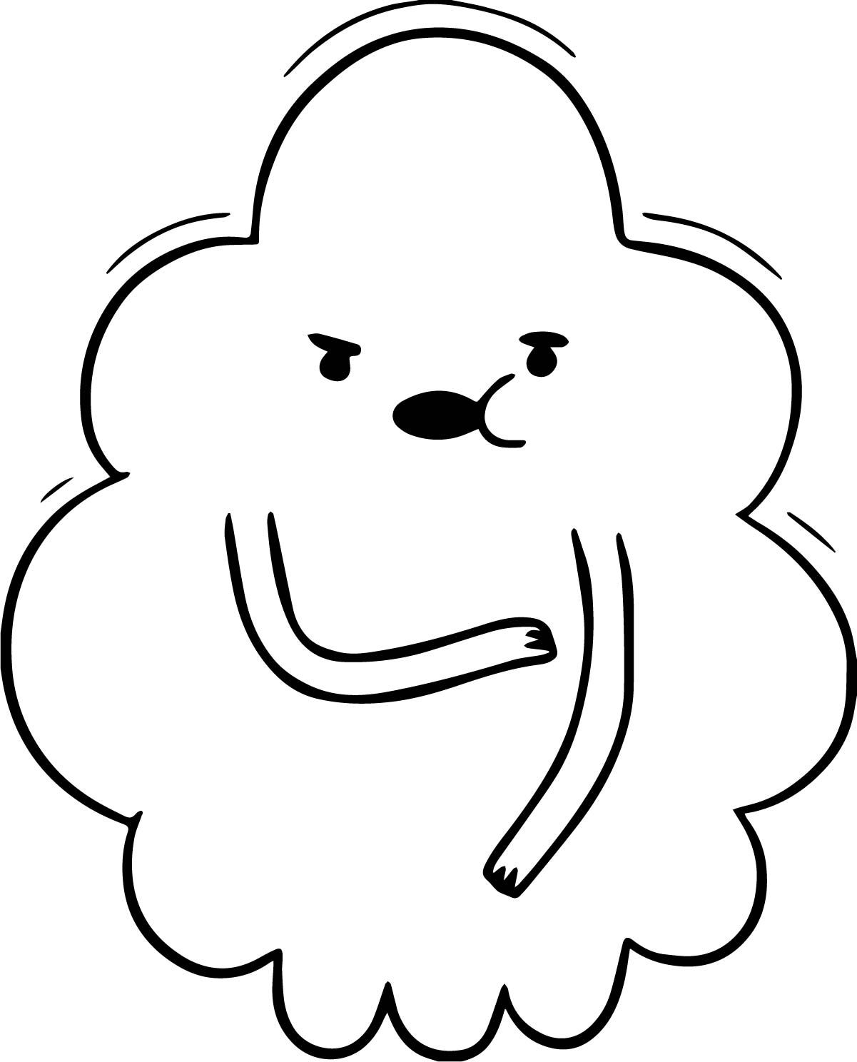 Cool Adventure Time Ghost Princess Coloring Page Wecoloringpage