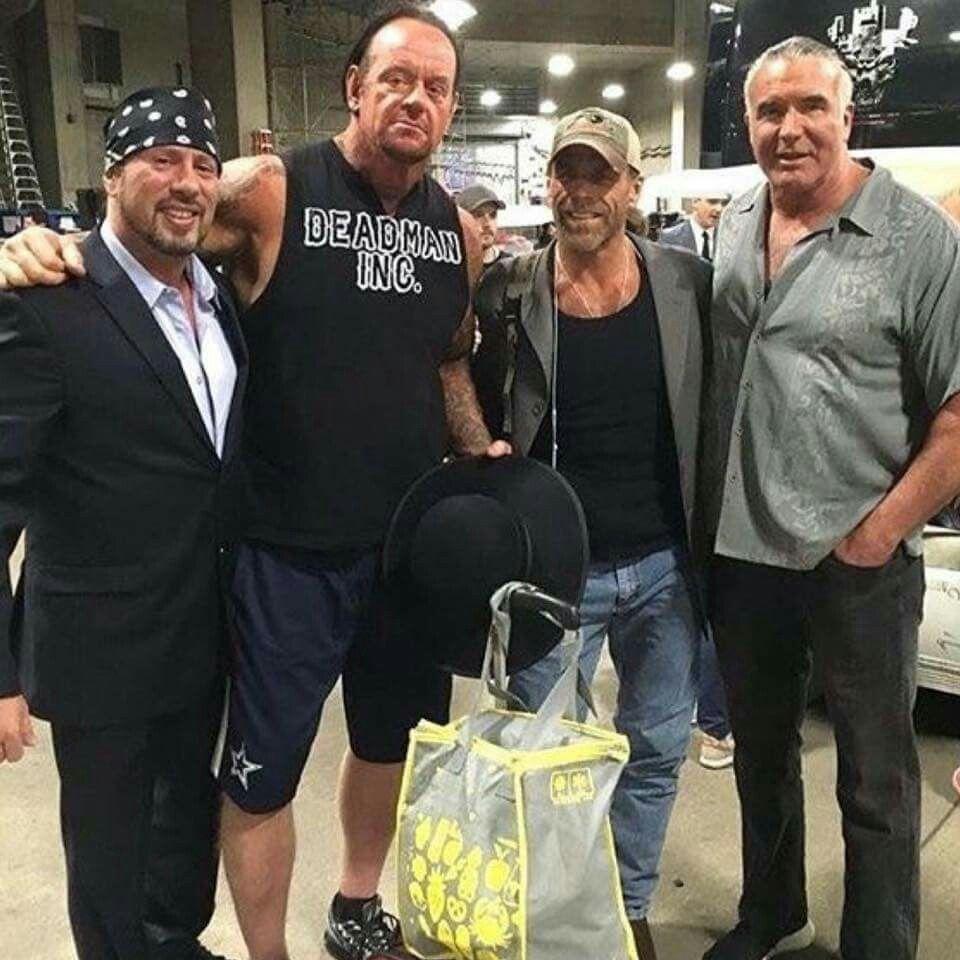 Undertaker, HBK Shawn Michaels, Scott Hall, X-Pac | Wwe Hall Fame ...