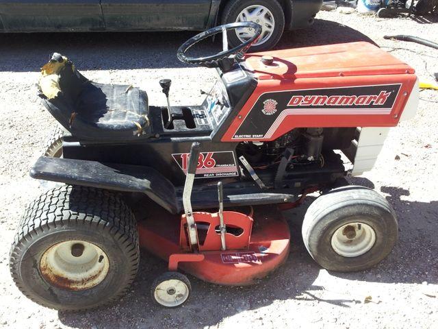 Dynamark Riding Lawn Mower - Nex-Tech Classifieds | Mowers