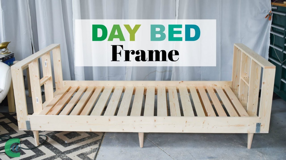 Wooden Slats Daybed Diy Google Search Diy Daybed Day Bed